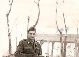 Esercitazioni militari in Campo Marte, anni 50