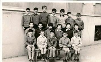 """Anno scolastico 1964/65, Scuola Elementare """"A. Volta"""", Fiumicello - Brescia"""
