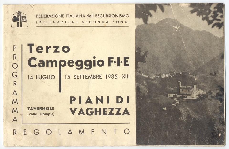 Campeggio ai Piani di Vaghezza - Val Trompia