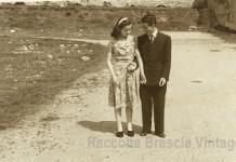 Luisa e Berto sposini novelli - Campo Bettini 1954