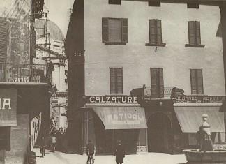 La Piazzetta delle Pescherie - Brescia 1929