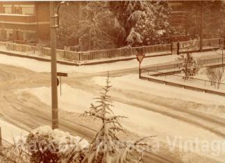 La grande nevicata - Brescia Villaggio Sereno 1985