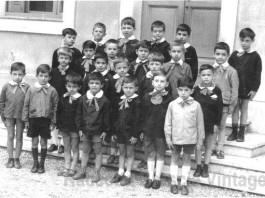 1966 Classe prima. Scuola Goffredo Mameli. Urago Mella Brescia.