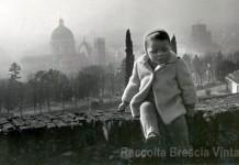 Io nel Settembre del 1954 in Castello di Brescia