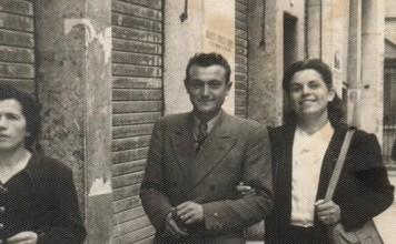 """""""I miei Nonni a passeggio per Corso Garibaldi"""", 1° Novembre 1946"""
