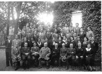 Foto di gruppo per la maturità - Liceo Arnaldo 1931