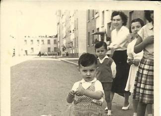 Quartiere Lamarmora - Brescia anno 1953