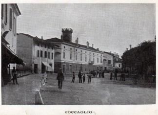 La Piazza Luca Marenzio di Coccaglio - inizio 900