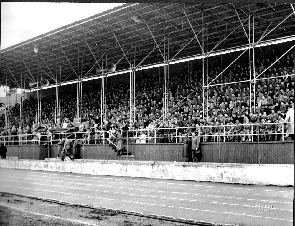 Trofeo Spedini allo stadium di via Bazzini-viale Piave - 1954