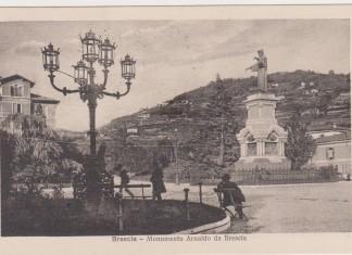 Piazza Arnaldo - Cartolina viaggiata anno 1924