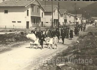 Villaggio Prealpino - Via Tovini anno 1961