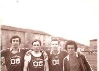 staffetta 4x100 Fiat Om Brescia (campo morosini anni 70)