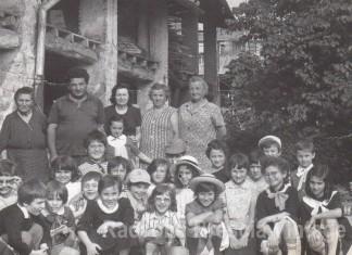 In gita con la maestra Maria alla cascina Copeta - 1973