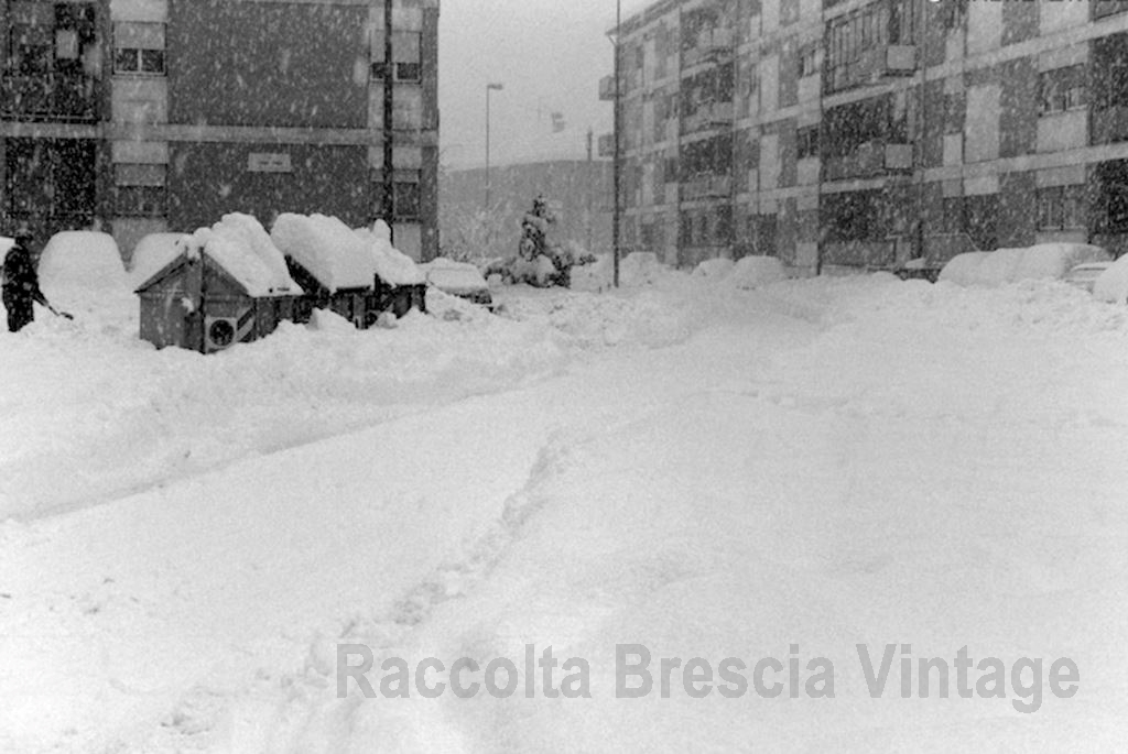 Nevicata 1985 quartiere S.Anna