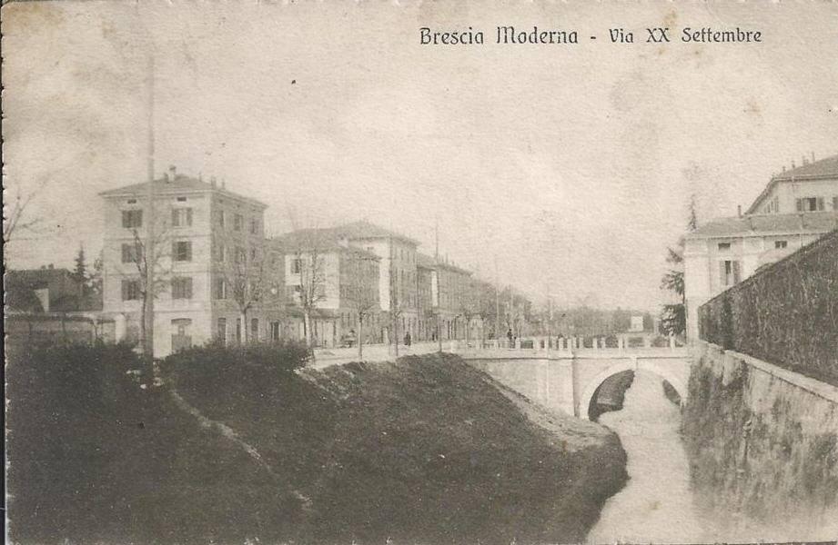 Via XX Settembre - Brescia primi anni venti