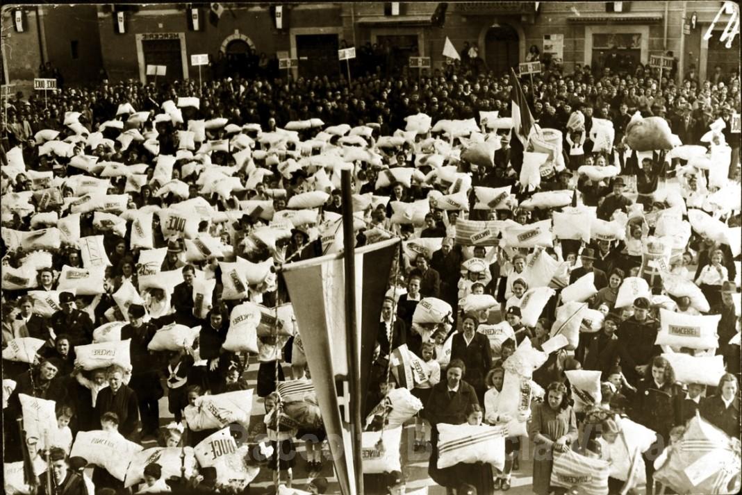 Raccolta lana per i combattenti - Ghedi 1942