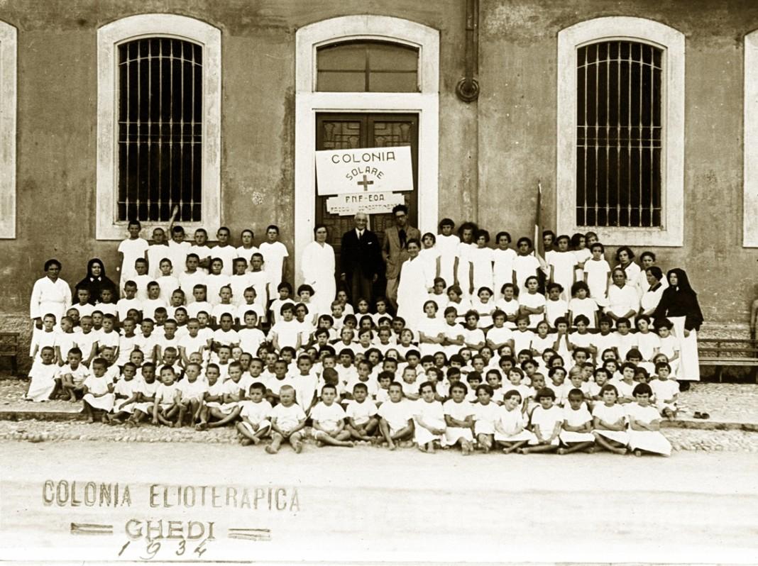 Colonia elioterapica - Ghedi 1934