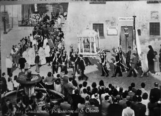 Tradizionale Processione di S.Obizio - Niardo 1958