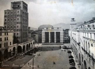 Piazza della Vittoria - Brescia 1959