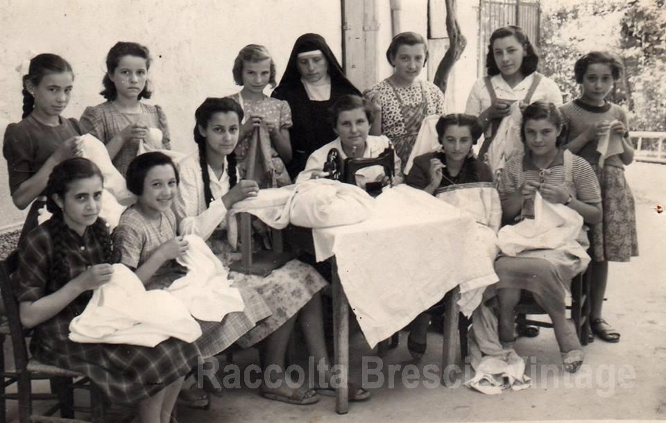 L 39 arte del cucito e del ricamo asilo di cologne anni 50 for Scuola di moda brescia