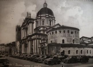 Duomo nuovo e vecchio - Brescia 1955