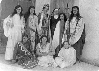 Mia madre con la corona di Re Erode - Cologne anni 30