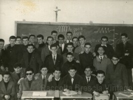 Classe Terza sezione B - ITIS Castelli - 1963