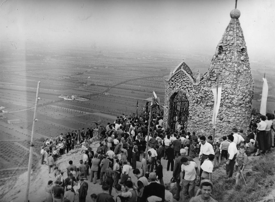 Cappella Madonna della Pace - Monte Orfano - 1954