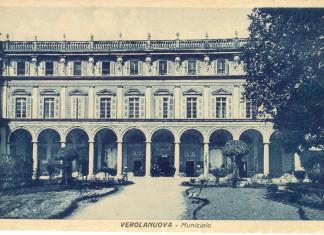Il Municipio - Verolanuova anni 30