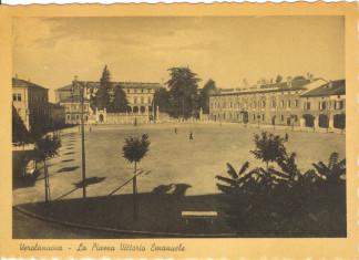 Piazza Vitt. Emanuele - Verolanuova - 1941