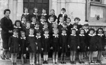 Scuola elementare Cesare Arici - Classe 1a - 1958/59