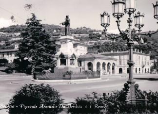 Piazzale Arnaldo da Brescia ed i Ronchi - 1957