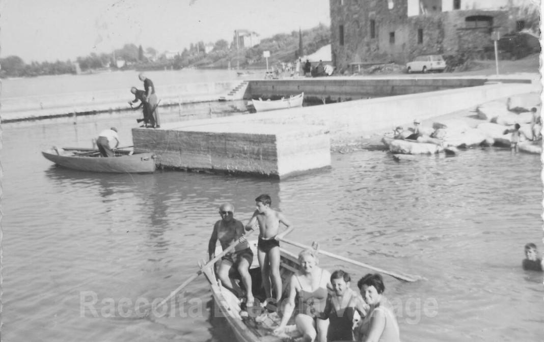 Porto di Rivoltella del Garda - anni 60