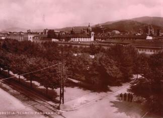 Scorcio panoramico - Brescia 1950