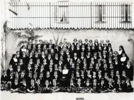 Alle elementari dalle suore di Sant'Agata - Via Malvezzi 1955