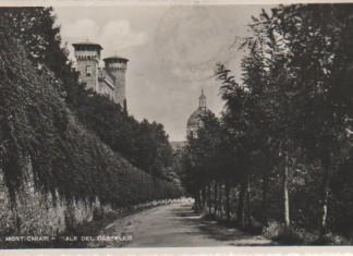 Viale del Castello - Montichiari - 1945