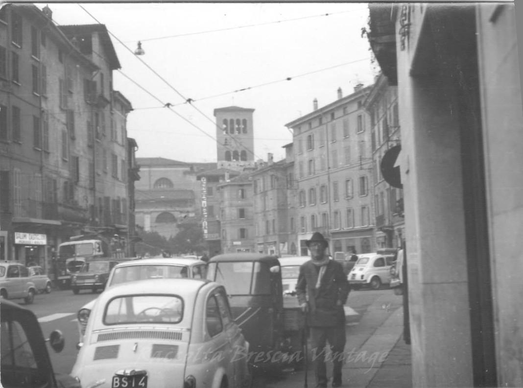 Via San Faustino negli anni 60
