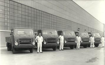 Presentazione nuova gamma autocarri OM anno 5 Marzo 1965