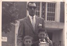 Prima comunione alla Chiesa dei Salesiani - Quartiere Don Bosco - 1963