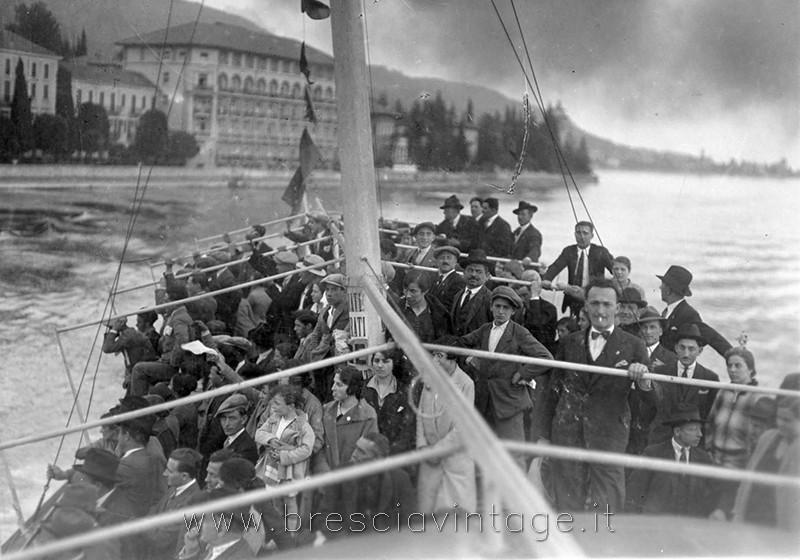 Battello sul Lago di Garda - anni 20