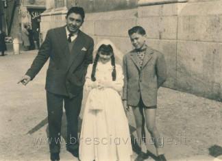 Prima comunione a S. Faustino - primi anni 50