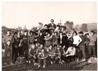 Premiazione scuole al campo Morosini - maggio 1970