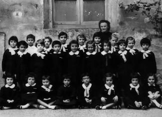 Classe Terza alla Filippo Corridoni - 1964