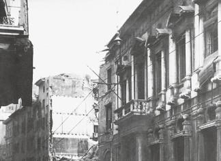 Bombardamenti in Corso Martiri della Libertà - Brescia