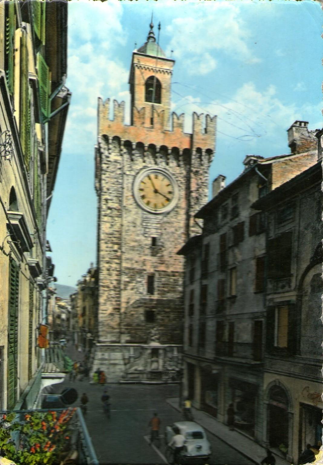 La Torre della Pallata nel 1960