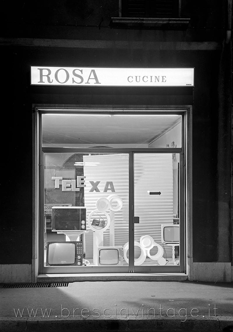 Negozio Rosa - Via Pace - Anni '60 - Brescia
