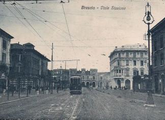 Viale stazione Brescia