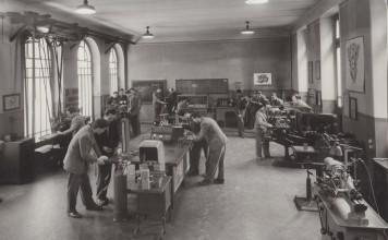 Laboratorio di elettrotecnica Moretto - Anni '60