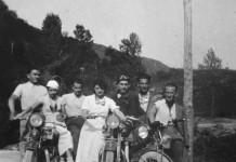 """""""Motociclisti sulle Coste di Sant' Eusebio"""" - 1936"""