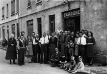 """""""Pranzo di nozze all' Osteria Capone"""" - Via Benacense - 1947"""